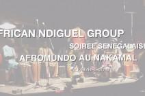 Soirée African Ndiguel 2013