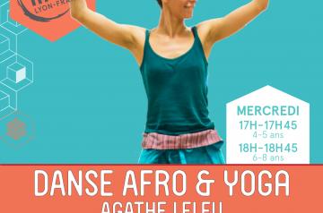 Agathe Leleu <br />Danses Africaines &#038; Yoga