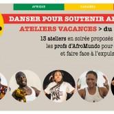 Ateliers Vacances : Soutien au centre AfroMundo
