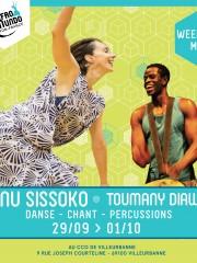 Mali : Danse, chants et percussions – Manu Sissoko & Toumany Diawara