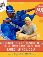 Stage d'Afro-Cubain
