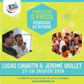 Formation O Passo – pédagogie du rythme – 27 & 28 /01/18