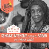 Semaine Intensive Sabar – 09-13 avril 2018