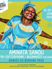 Stage Danses du Burkina avec Aminata Sanou
