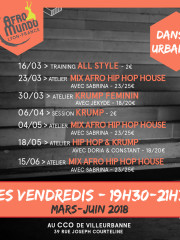 Atelier Krump & Hip Hop