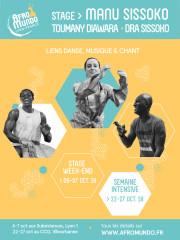 Week-end Mali : Stage danse, chant et musique
