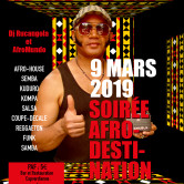 SOIREE AFRO-DESTINATIONS